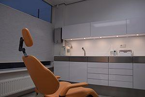 behandelkamer spier tandprothetiek