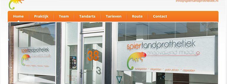Website Spier tandprothetiek online!