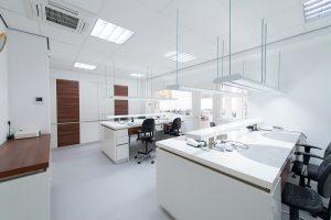 werkplekken spier tandprothetiek